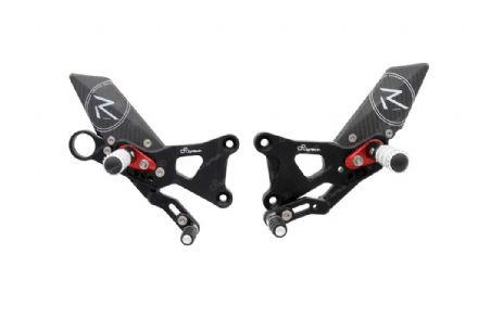 LighTech BMW S1000 R 14-16 'R' Version Adjustable Rearsets